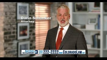 Law Offices of Bachus & Schanker TV Spot, 'Injured in an Accident'