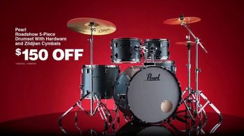Guitar Center Pre-Black Friday Deals TV Spot, 'Holidays: Drumset and E-Kit' - Thumbnail 2