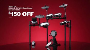 Guitar Center Pre-Black Friday Deals TV Spot, 'Holidays: Drumset and E-Kit' - Thumbnail 5