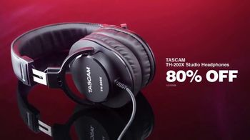 Guitar Center Pre-Black Friday Deals TV Spot, 'Holidays: DJ Controller and Tascam Studio Headphones' - Thumbnail 9