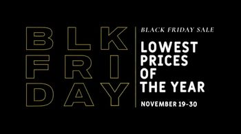Men's Wearhouse Black Friday Sale TV Spot, 'Don't Miss Out'