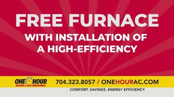 One Hour Heating & Air Conditioning TV Spot, 'Maximum Comfort: Free Furnace' - Thumbnail 3