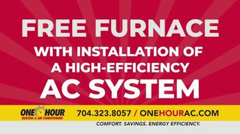 One Hour Heating & Air Conditioning TV Spot, 'Maximum Comfort: Free Furnace' - Thumbnail 4