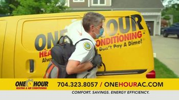 One Hour Heating & Air Conditioning TV Spot, 'Maximum Comfort: Free Furnace' - Thumbnail 7