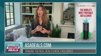 America's Steals & Deals TV Spot, 'CleanLight Air Purifier' Featuring Genevieve Gorder