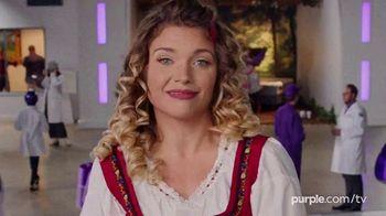 Purple Mattress Anniversary Savings TV Spot, 'Angry Memory Foam' - Thumbnail 1
