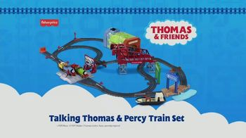 Talking Thomas & Percy Train Set TV Spot, 'Look Who's Talking' - Thumbnail 8