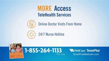 WellCare TexanPlus Medicare Advantage Plan TV Spot, 'More' - Thumbnail 8