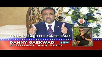 Danny Gaekwad TV Spot, 'Trump Hai Toh Safe Hai' - Thumbnail 1