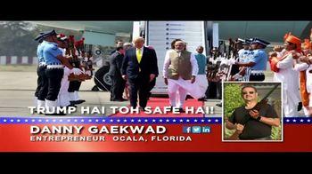 Danny Gaekwad TV Spot, 'Trump Hai Toh Safe Hai' - Thumbnail 2