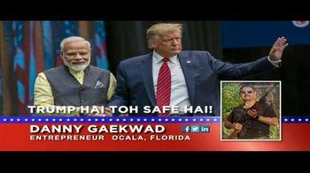 Danny Gaekwad TV Spot, 'Trump Hai Toh Safe Hai' - Thumbnail 3