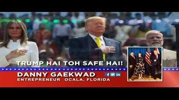 Danny Gaekwad TV Spot, 'Trump Hai Toh Safe Hai' - Thumbnail 4