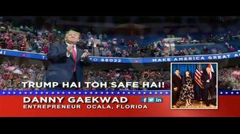 Danny Gaekwad TV Spot, 'Trump Hai Toh Safe Hai' - Thumbnail 5