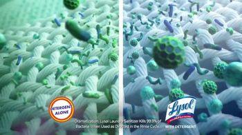Lysol Laundry Sanitizer TV Spot, 'Protection' - Thumbnail 6