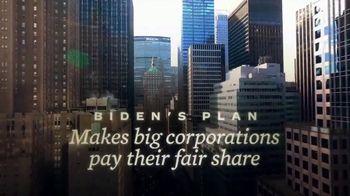 Biden for President TV Spot, 'Corporations Pay More' - Thumbnail 4