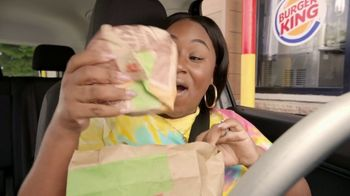 Burger King 2 for $5 Mix n' Match TV Spot, 'Drive Thru: $1 Delivery, $10 Minimum' Feat. Daym Drops - Thumbnail 4