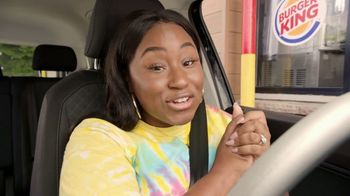 Burger King 2 for $5 Mix n' Match TV Spot, 'Drive Thru: $1 Delivery, $10 Minimum' Feat. Daym Drops