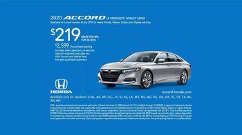 2020 Honda Accord LX TV Spot, 'Versus' [T2] - Thumbnail 7