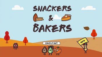 Nuts.com TV Spot, 'Snackers & Bakers'