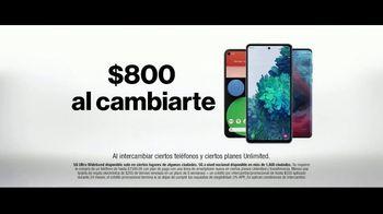 Verizon TV Spot, 'Mix and Match: $800 dólares al cambiarte y Disney+, Hulu, ESPN+' [Spanish] - Thumbnail 7