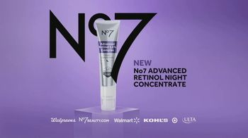 No7 Laboratories Advanced Retinol Night Concentrate TV Spot, 'Unequally Crafted' - Thumbnail 9