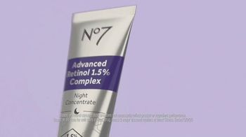 No7 Laboratories Advanced Retinol Night Concentrate TV Spot, 'Unequally Crafted' - Thumbnail 4