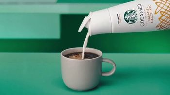 Starbucks Creamer TV Spot, 'Smooth and Creamy at Home' - Thumbnail 3