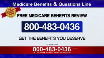 Medicare Benefits & Questions Line TV Spot, 'Additional Benefits: Save $144' - Thumbnail 1
