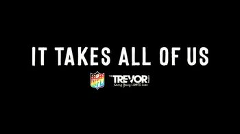 NFL TV Spot, 'National Coming Out Day' Featuring Anthony Barr, Calais Campbell - Thumbnail 9