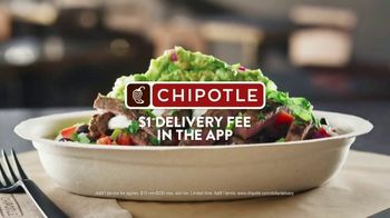 Chipotle Mexican Grill TV Spot, 'Behind the Asada: Ignacio: $1 Delivery Fee'