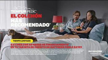 Mattress Firm TV Spot, 'Las mejores ofertas: Tempur-Pedic: $37 dólares al mes' [Spanish] - Thumbnail 7
