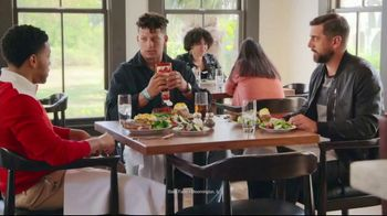 State Farm TV Spot, 'Steakhouse' Featuring Patrick Mahomes II, Aaron Rodgers - Thumbnail 8