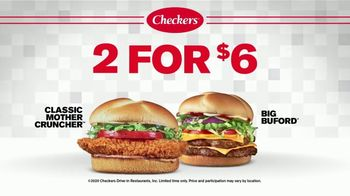 Checkers & Rally's 2 for $6 TV Spot, 'A Big Deal'