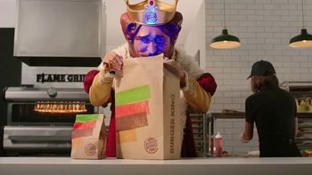 Burger King TV Spot, 'Look What the King's Got'