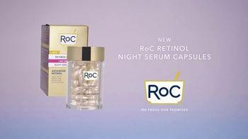 RoC Retinol Night Serum Capsules TV Spot, 'The Power of Smooth' - Thumbnail 10