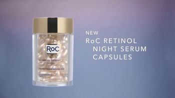 RoC Retinol Night Serum Capsules TV Spot, 'The Power of Smooth' - Thumbnail 5