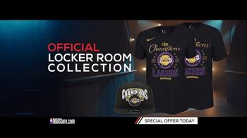 NBA Store TV Spot, '2020 Champions: Los Angeles Lakers Locker Room Collection'