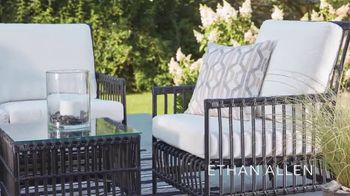 Ethan Allen October Sale TV Spot, 'Outdoor Living Space' - Thumbnail 4