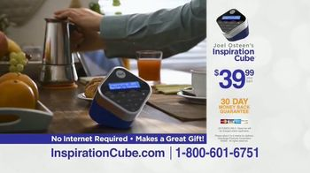 Joel Osteen Inspiration Cube TV Spot, 'Life-Changing Messages' - Thumbnail 7
