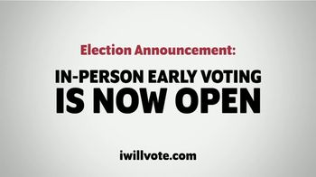 The Democratic National Committee TV Spot, 'In-Person Early Voting Is Now Open Near You: Michigan'