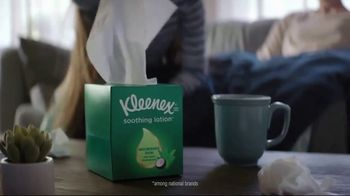 Kleenex Soothing Lotion TV Spot, 'Stuffed' - Thumbnail 5