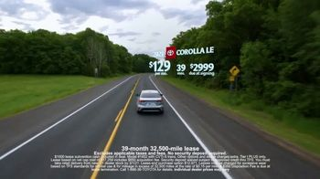 Toyota Run the Numbers Winter Event TV Spot, 'Save: Corolla' [T2] - Thumbnail 3