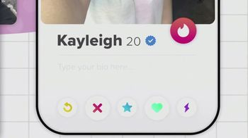 Tinder TV Spot, 'Put Yourself Out There: Kayleigh' - Thumbnail 2