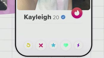 Tinder TV Spot, 'Put Yourself Out There: Kayleigh' - Thumbnail 4