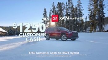 Toyota Run the Numbers Winter Event TV Spot, 'Save: RAV4' [T2] - Thumbnail 2
