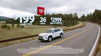 Toyota Run the Numbers Winter Event TV Spot, 'Save: RAV4' [T2] - Thumbnail 3