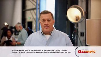 Ozempic TV Spot, 'My Zone' Featuring Billy Gardell