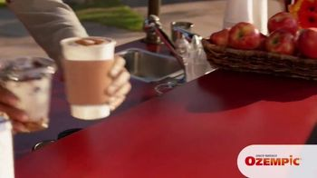 Ozempic TV Spot, 'My Zone' Featuring Billy Gardell - Thumbnail 8