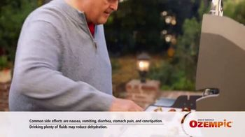 Ozempic TV Spot, 'My Zone' Featuring Billy Gardell - Thumbnail 9