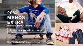 Macy's TV Spot, 'Esta Semana en Macy's: 20% menos extra' [Spanish] - Thumbnail 2